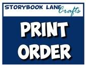 PRINT SERVICES - Storybook Lane Crafts