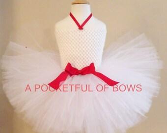White Tutu Dress, Toddler Birthday Dress, Your Color Choice