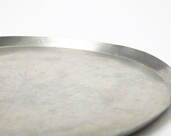 Stainless Steel Industrial Round Tray