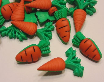 6 piece carrot  button mix, 20-24 mm (48)