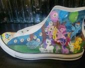 My Little Pony Custom Converse Shoes