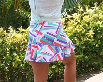 ROXY Print Running Skirt