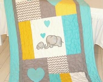 Elephant Bedding Etsy