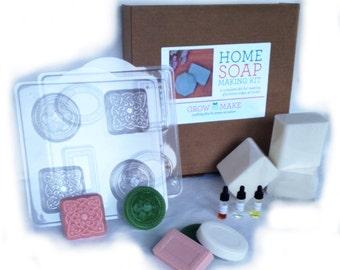 Deluxe Oatmeal Glycerine Soap Making Kit (makes 16 soaps)