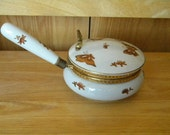 Vintage Porcelain Butler Box  Andrea by Sadek Japan