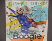 Hank Williams, Jr. - Born to Boogie - Country - Warner Brothers Records 1987 - Vintage Vinyl LP Record Album