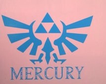 "8"" x 11"" Personalized Zelda Triforce Wall Sticker Decal"