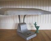 1950's Industrial Gooseneck Desk Lamp, Desk Lamp, Industrial, Dazor, Industrial, Lamp, Art Deco, Flourescent, Shop, Task, Work, Office