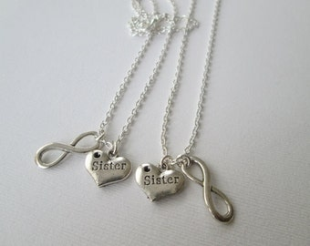 2 Sister, Infinity Best Friends Jewelry