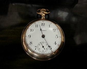 7 Jewel Waltham Pocket watch made 1904