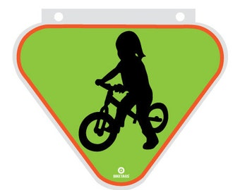 Bicycle Safety Sign For Child