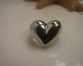 Giant Heart Ring Size 6 1/2 14KGF 1051.