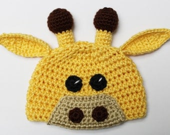 Giraffe Beanie / Hat