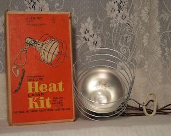 Vintage Penetray Deluxe heat lamp kit in original box