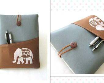 Elephant iPad Case, iPad Cover, iPad Sleeve, iPad Air Cover, iPad Air Case, Mens iPad Case.