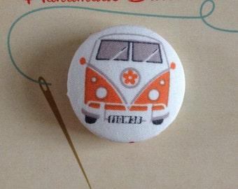 VW Camper Van Button