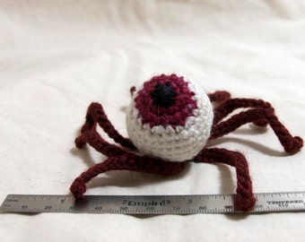 Zombie Eyeball catnip toy (for cats) - hangover pink