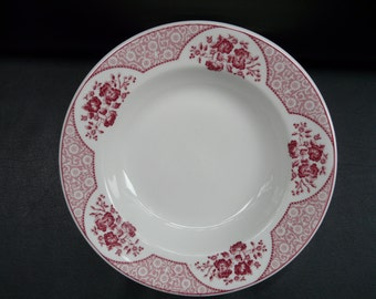 Syracuse China Wakefield Restaurant ware, red, large bowls