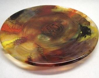 Fused Glass Plate – CIG2185 - Turbulence