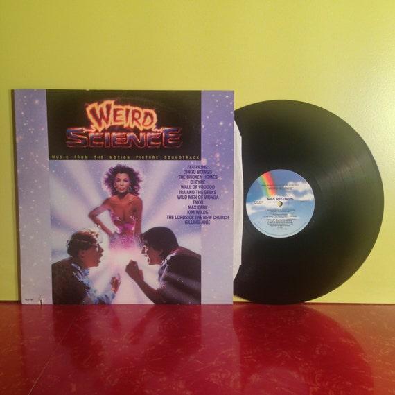 weird science movie soundtrack vinyl record album lp 1985