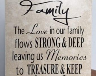 FAMILY Tile Decor