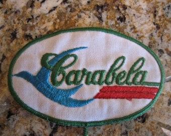Vintage Carabela Motorcycle Patch