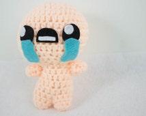 The Binding of Isaac Inspired Crochet Isaac Plush
