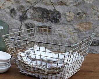 Vintage Oyster Basket - Set of 3