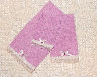 Towel Set ,miniatures,dollhouses