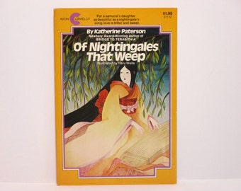 Of Nightingales That Weep by Katherine Paterson Illustrated by Haru Wells 1980 Vintage Children's Book