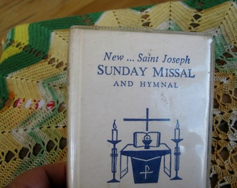 1966 St Joseph Sunday Missal and Hymnal Good to Very Good