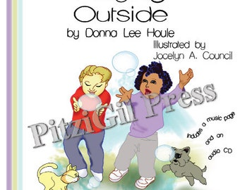 Book, Children's:  Playing Outside