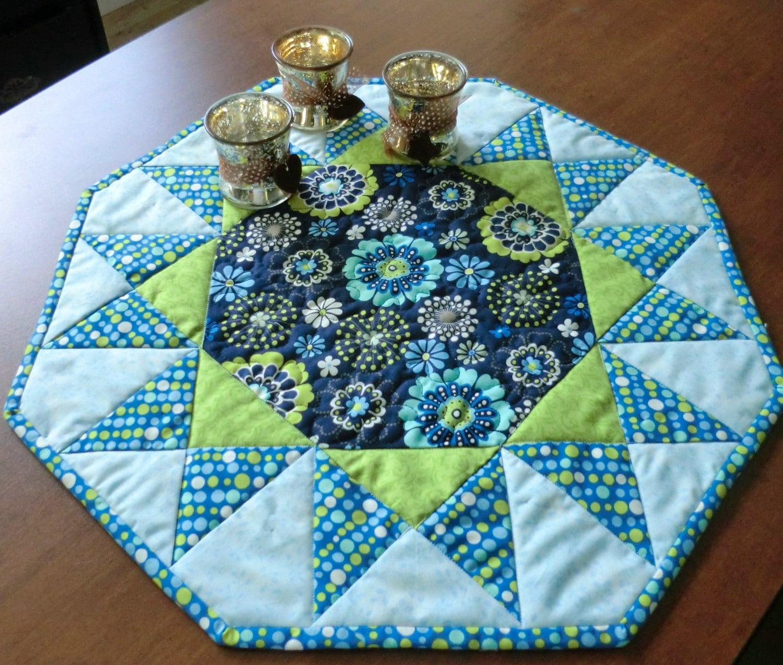 Easy Table Topper Pattern Sunburst
