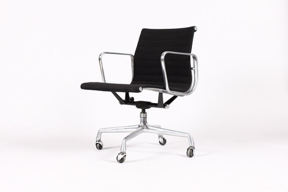 vintage herman miller eames aluminum group management desk chair