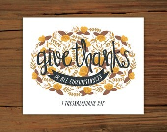 1 Thessalonians 5:18 Print