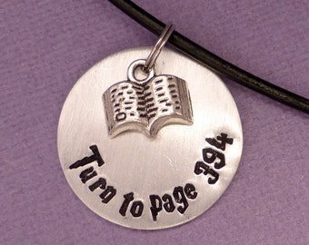 Turn to page 394 - A Hand Stamped Aluminum Disc Necklace