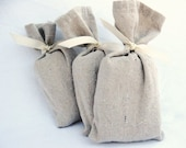 Fragrance Sachets Set Of Three Soap Sachets Drawer And Closet Fresheners - Simply Made With Cotton And Ivory Soap