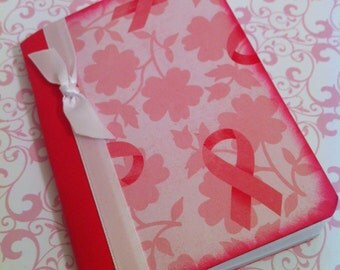 Breast Cancer Awareness Mini Composition Book