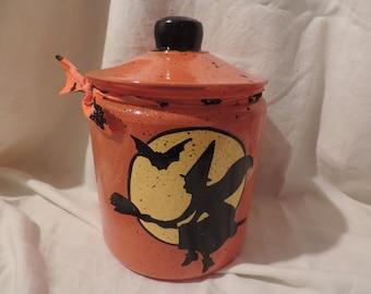 Halloween cookie jar PERSONALIZED FREE!!!