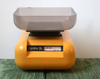 Orange Prima 5 kilogram kitchen scales