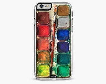 Watercolor Set Rubber iPhone 6/6S case, iPhone 6/6S PLUS | iPhone 5/5S | iPhone 5C case,  iPhone 7 case