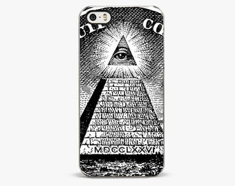 EYE OF PROVIDENCE iPhone 6 cover, iPhone 6 Plus cases, iPhone 5s case, Money Pyramid iPhone 7 case