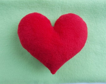 SMALL HEART PILLOW