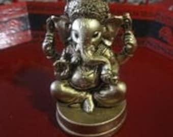 Ganesha statue,Small Lord Ganesh statue,  lucky seeds talisman, ganesha, Lord Ganesh, Yoga meditation