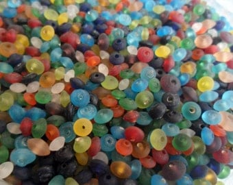 5 mm Mixed Color Glass Beads