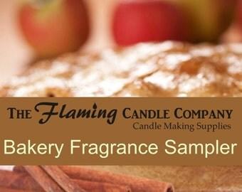 Bakery Fragrance Oil Sampler - FREE SHIPPING
