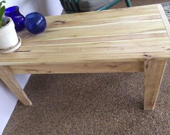 Black Locust Coffee Table--indoor/outdoor