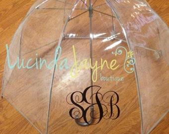 Personalized Bubble Umbrella