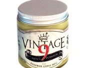 Vintage 9 Pomade 4oz. Hand crafted gentleman's hair dressing.