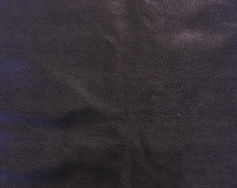 Faux Black Leather Fabric - Sewing - Home Decor